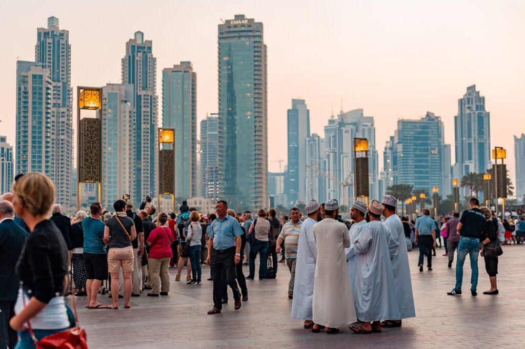 downtown dubai, united arab emirates