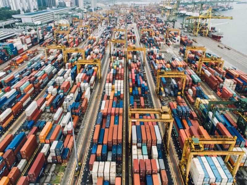 containers exportación puerto